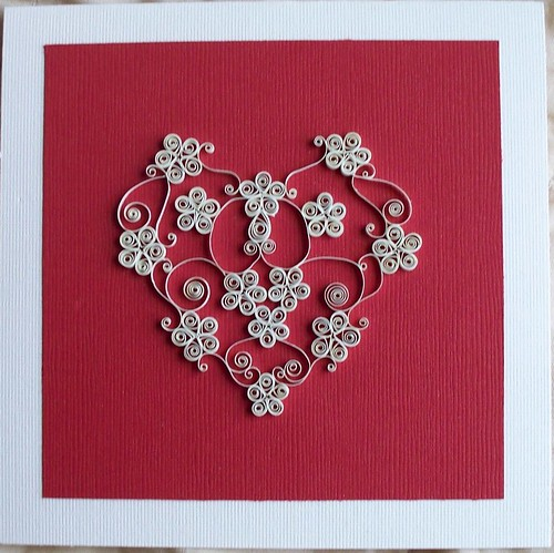 Flickriver Photoset Valentine S Day Quilling By Iflookscouldquill