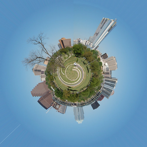 Austin Mini Planet by Hi I'm Santi