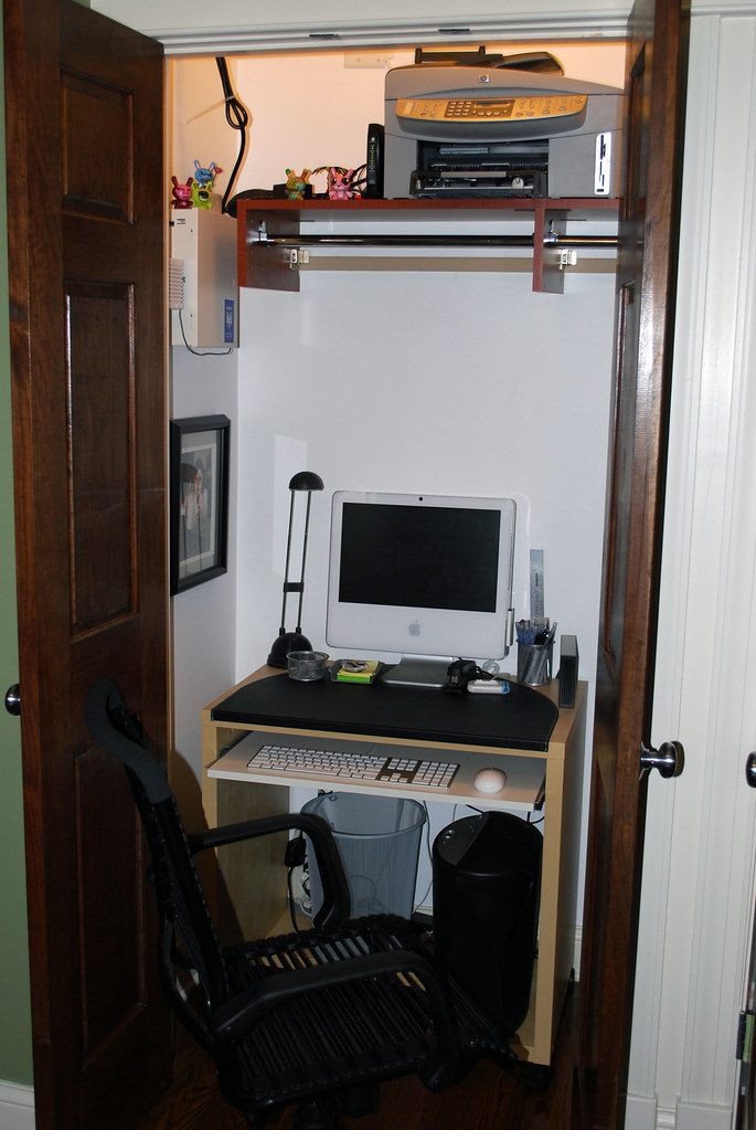 My Office in a Coat Closet - Part 1 (Open)