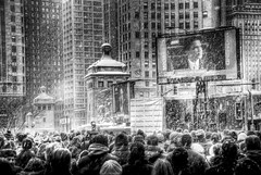 Barack Obama Inauguration jumbotron in Chicago: 7 (spudart) Tags: city morning bridge winter usa snow chicago cold building skyscraper happy illinois downtown unitedstates loop jan famous president politics rally crowd january landmark michiganavenue pioneercourt adjectives obama hdr inauguration doubledecker oath inaugural barackobama beauxarts powershots110 michiganavenuebridge basculebridge londonguaranteebuilding 60601 60611 edwardhbennett 333northmichiganavenue 360northmichiganavenue londonguaranteeandaccidentbuilding built1920 alfredsalschuler built1923 230northmichiganavenue foursquare:venue=533195