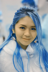 Snow Girl (MSoelaiman) Tags: blue girl d50 ir nikon v3 infrared harlim