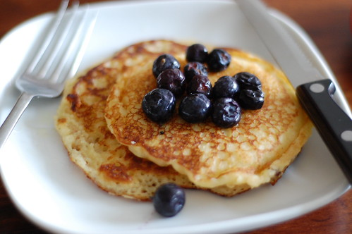 pancakes for breakfast