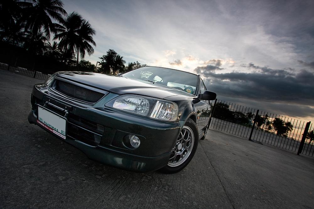 Paint car black matte -Honda City 2002 Exi - 3250659044 a9f79d42d8 o