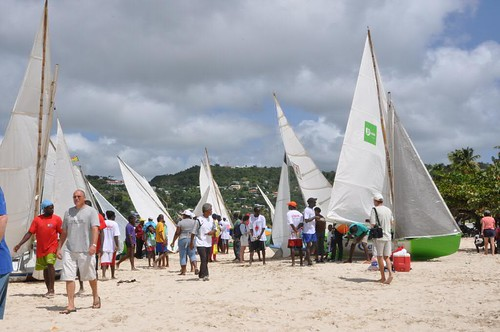 Grande Anse Beach Scene