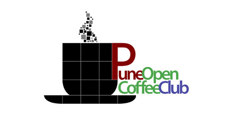 Proposed new logo of the Pune OpenCoffee Club by Sahil Khan