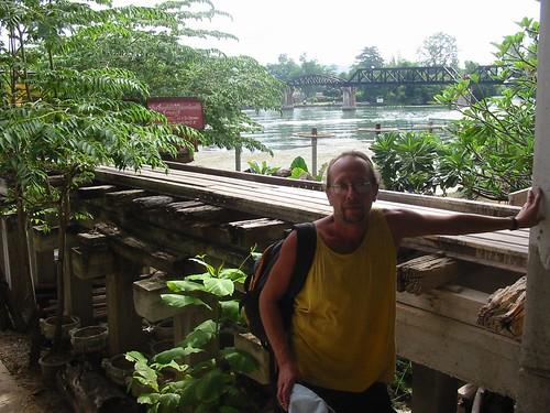 Oude en nieuwe Kwai Bridge