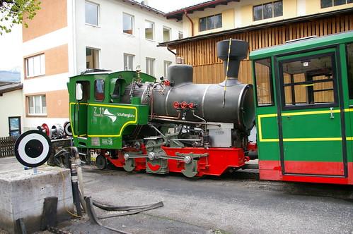 Горный паровоз с зубчатой передачей