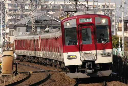 Kintetsu1620series in Masuga〜Yamato-Yagi,Kashihara,Nara,Japan 2009/2/07