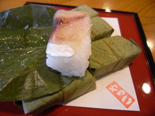 柿の葉寿司やっこ@吉野