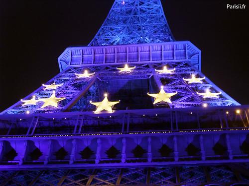Etoiles du drapeau européen