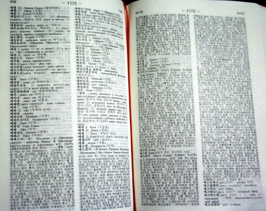 Korean-Russian Dictionary
