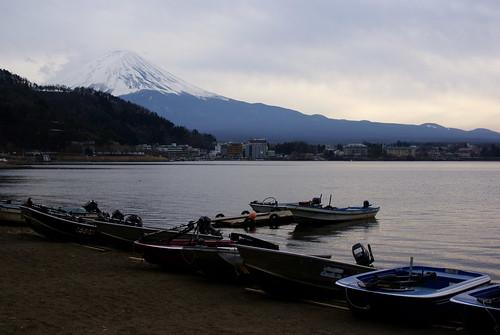 Mt Fuji & Lake Kawaguchi