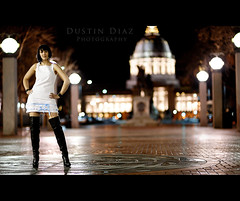 Day Fifty (Dustin Diaz) Tags: sanfrancisco portrait nikon downtown boots bokeh capital 85mm financialdistrict 365 thursday featured 85mmf14d thighhigh project365 dustindiazcom erincaton d700 dedfolio