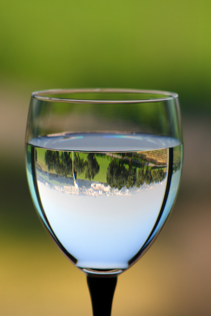 A glass of water... 01