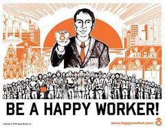 Eisen werknemers niet langer geluk op het werk?