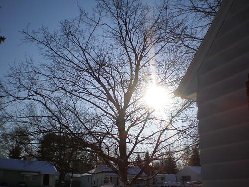 The sun shines in Lansing, MI
