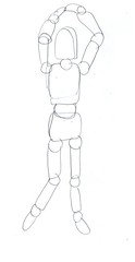 drawing poseable figure5