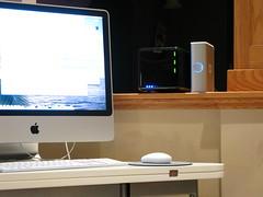 iMac with Drobo