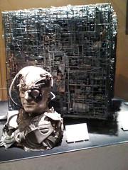 Borg and Borg Cube (sklender) Tags: startrek borg assimilation scifi borgcube detroitsciencecenter sklender startrektheexhibition