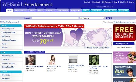 WHSmith Entertainment