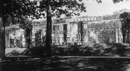 View of the old ampitheater near Arlington House in Arlington National Cemetery