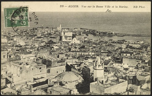 Algiers: View of the Lower City and the Marina (GRI)