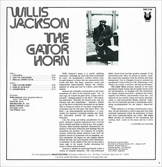 Willis Jackson Back