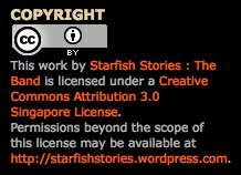 CC-SG Adopter: Starfish Stories :: The Band