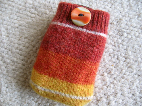 mobile phone cosy