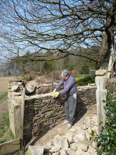 Stonewalling, Woodthorpe Hall, Derbyshire