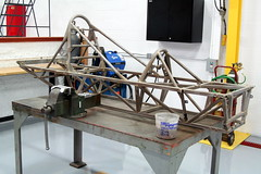 Formula Ford Chassis (jkracing50) Tags: restoration formulaford
