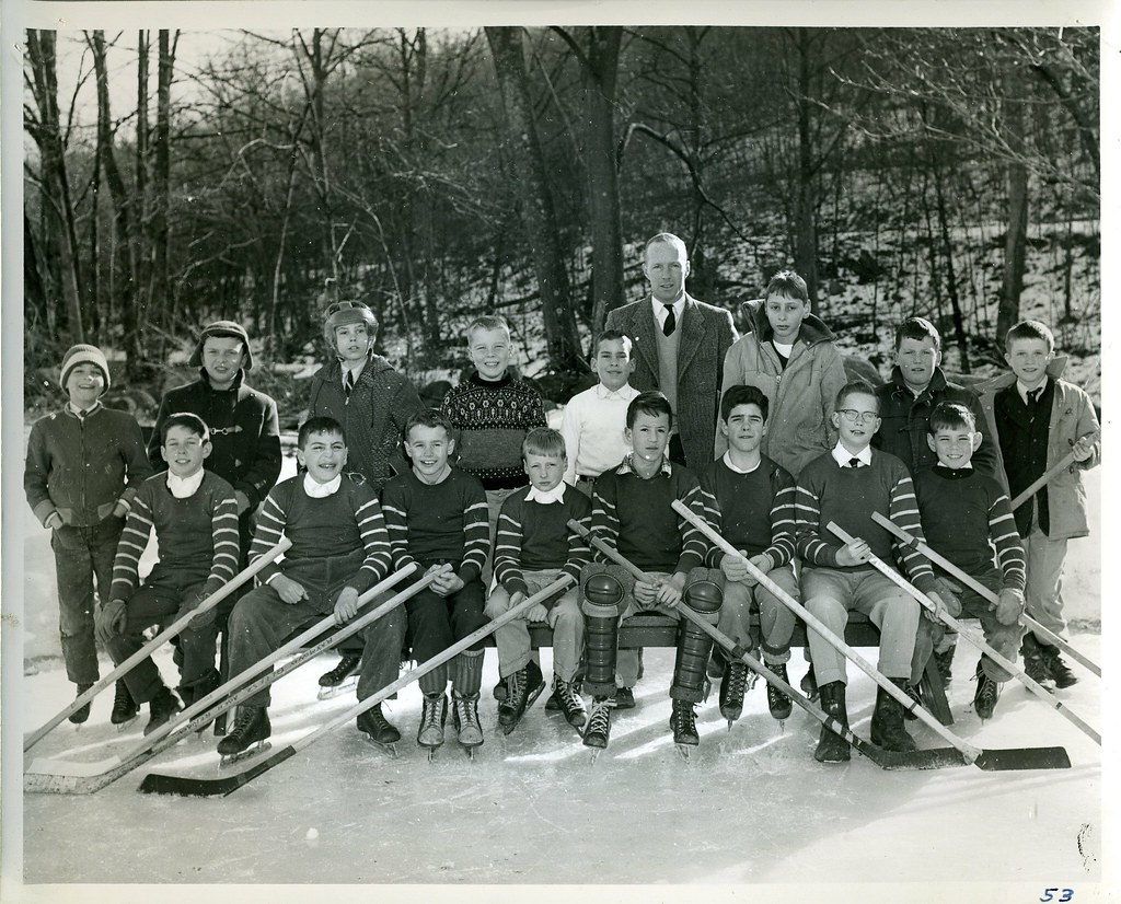 Hockey Team ~ 1957