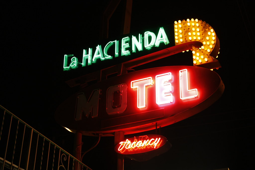 Day 084/365 - The La Hacienda motel