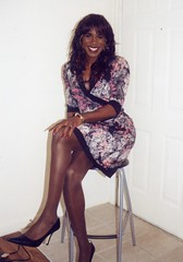 floral2 (darlene362538) Tags: beautiful pretty dress cross african transgender booty american transvestite