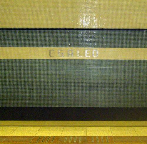 egaleo metro station athens