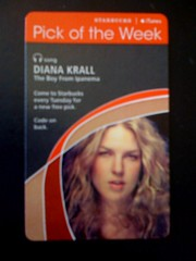 Starbucks iTunes Pick of the Week - Diana Krall - The Boy From Ipanema