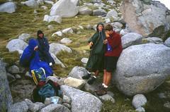 Bocca d'Asinao : la troupe frigorifiée sous les rafales de vent