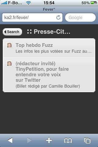 pressecitron-fever-iphone