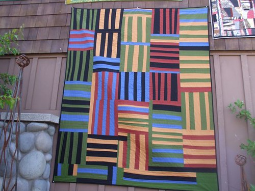 Quilts inspired by Gee's Bend - the Stitchin' Post, Sisters