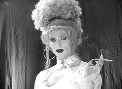hostess_11 (Heather Renee) Tags: fetish capri heather smoking transgender more transvestite crossdresser 120s