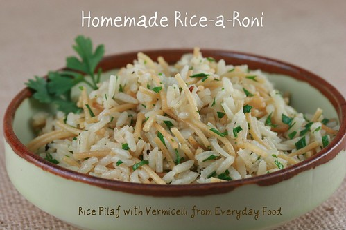 Homemade Rice-a-Roni (Rice Pilaf with Vermicelli)