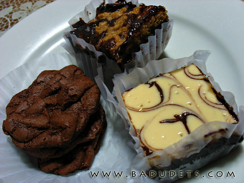 sinful treats from Dessert Express