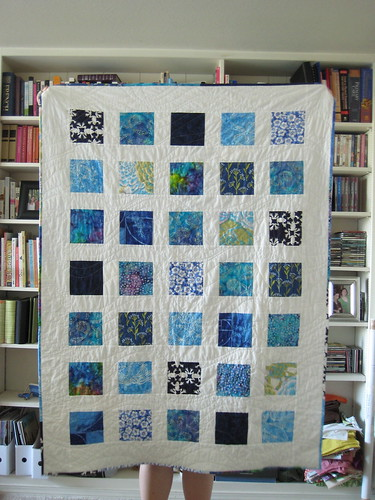 Sea Blue Sea Quilt--all done!