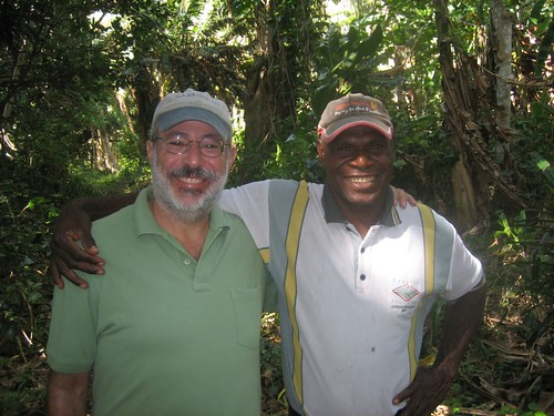 Mark with Chief William, Chief of Tomman Island