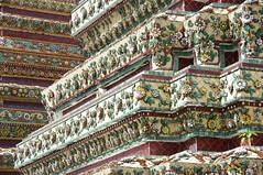 bont keramiek 'Wat Pho' (JANKUIT) Tags: wat pho keramiek bont