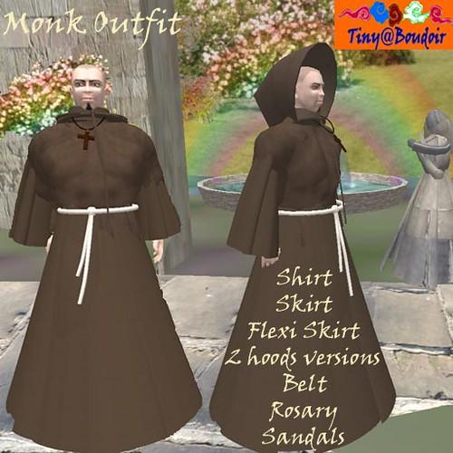 Moine tenue , Monk outfit
