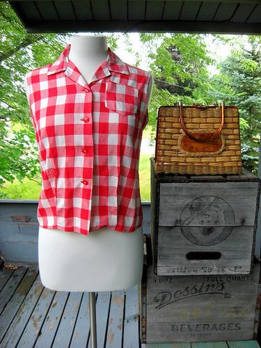 Picnic blouse