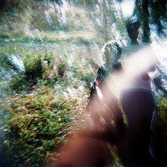 things behind the sun (Highburnate) Tags: autumn light 120 film boys grass leaves youth holga jake dude feeling inatree partay jakelayden nathalieweiswasser httpwwwmyspacecomjakelayden