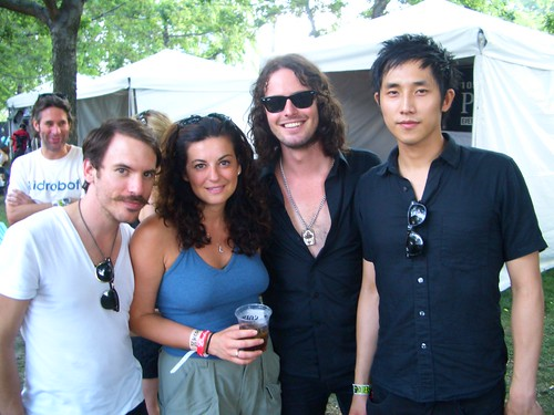 Leyla with The Airborne Toxic Event
