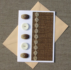 Tweed Card (Tweed Kaart) (Made by BeaG) Tags: brown paperart design beige handmade lace buttons unique postcard card greetingcard birthdaycard kaart bruin papercraft kant knopen handmadecard beag vintagebuttons antiquelace handmadegreetingcard blankcard tweedlook designedandmadebybeag ontworpenengemaaktdoorbeag kaartjesmaken handgemaaktekaart tweedcard tweedkaart antiekkant vintageknopen kaartenmaken aniversarycard handmadecardwithbuttons handmadecardswithbuttons